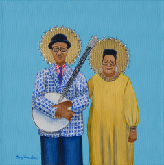 New Orleans Gothic- Danny and BluLu Barker limited edition print