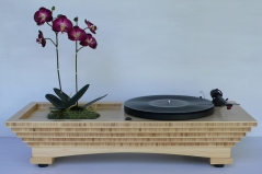 Audiowood Sound Garden Turntable
