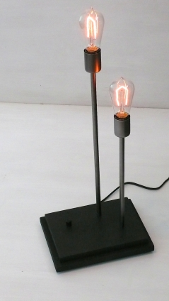 Audiowood Levels Lamp
