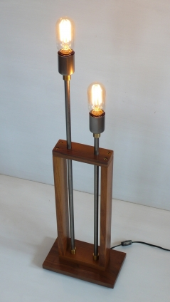 Audiowood Frame Lamp