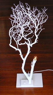 White Tree Lamp