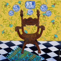 Portrait of Mandarin Chair 3 limited edition print