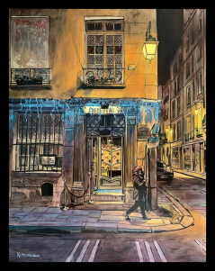 Rue Saint-Louis Paris print