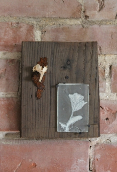 Kiln-Fired Flower and Fishbone