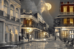 Chartres St. Sepia