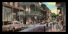 Spring in the French Quarter (print)