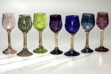 Handblown Wine Goblets / Main Image