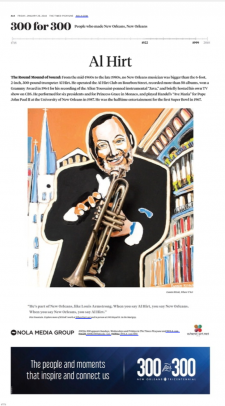 Al Hirt / article from Nola.com