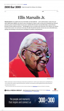 Ellis Marsalis / article from Nola.com
