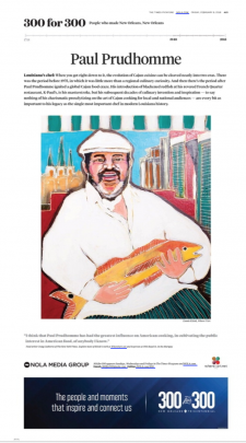 Chef Paul Prudhomme / article from Nola.com