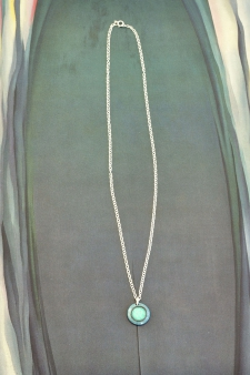Aqua Dot Necklace / Main Image
