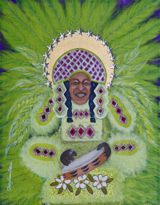 Big Chief Bo Dollis limited edition print / Main Image