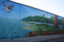 Detail of Breaux Mart Mural #1 / Main Image