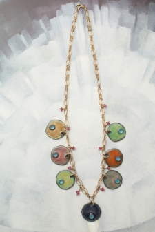 Circus Necklace (Reversible) / Main Image