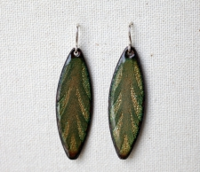 Spliff Leaf Earrings / Main Image