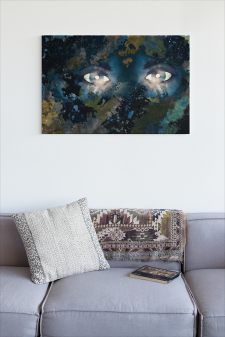 Large Canvas Earth Spirit