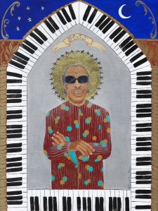 Fess (Professor Longhair) limited edition fine art print / Main Image