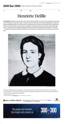 Henriette DeLille / article from Nola.com