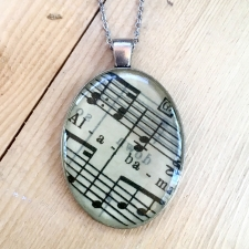 Alabama Sheet Music Necklace / Main Image