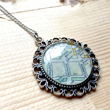 Galatoire's Map Pendant