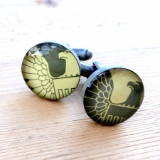 Eagle Stamp Cuff Links / Main Image