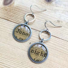 June Night Dangle Earrings / Main Image