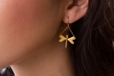 Dragonfly Earrings / Main Image