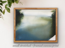 'It Runs Deep' Stretched + Framed Canvas Print