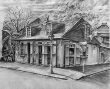 Jean Lafitte's - Black and White / Main Image