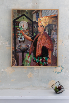 The Persistence of Justice (Marie Laveau Making Groceries at Rouses) / in room