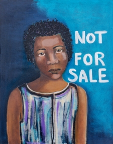 Not For Sale, an original painting / Main Image