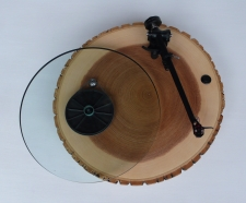 Audiowood Barky Turntable / Main Image