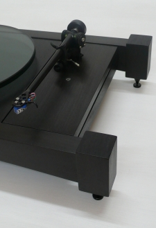 Audiowood The Big Easy Turntable (Ebonized Walnut)