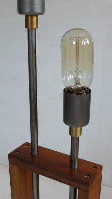 Audiowood Frame Lamp (detail)