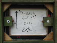 Pangaea Ultima reverse with found wood frame