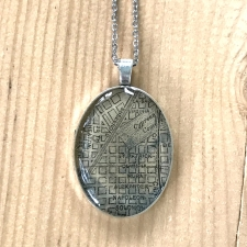 Midcity Map Necklace / Main Image