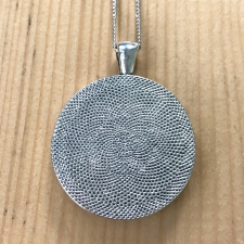 City Park Golf Course Map Pendant