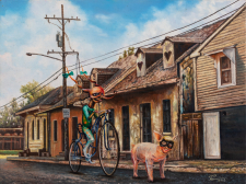 Circus Pig – on Chartres Near NOCCA / Main Image