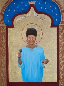 Soul Queen (Irma Thomas) limited edition fine art print / Main Image