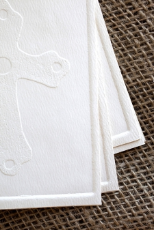 Embossed Cross Cards/ product detail