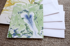 Marbled Note Cards E
