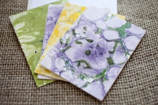Marbled Note Cards F/ product view