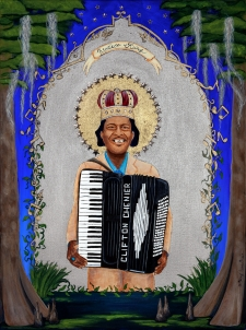 Zydeco King (fine art limited edition print) / Main Image