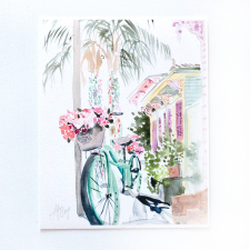 Bicycle in the Marigny / Main Image