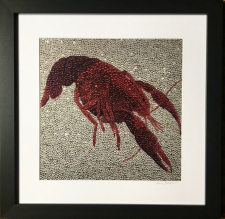 Crawfish ~  Metallic Lustre Fine Art Print / Main Image