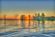 Lake Maurepas Sunset / Main Image